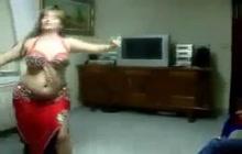 Arabian belly dancing