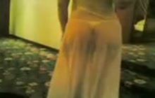 Sexy Arab ass dancing for us