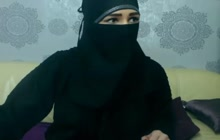 Naughty Arab teasing on camera
