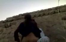 Arab girl fucked outdoors